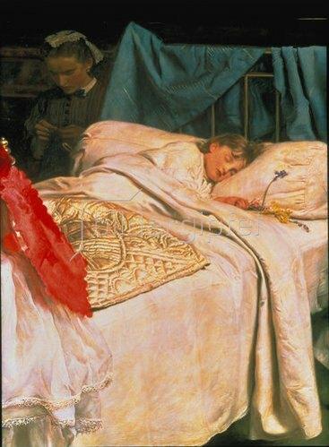 Sir John Everett Millais: Schlafendes Kind    1865