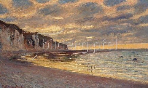 Claude Monet: Ebbe bei Pointe de L'Ailly. 1882