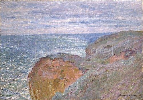 Claude Monet: Lichtreflexe auf dem Meer bei Dieppe   1897