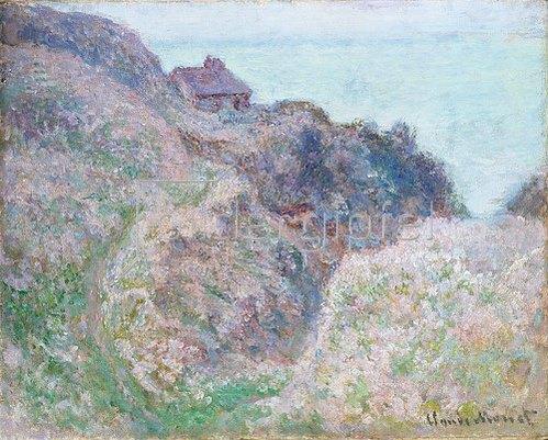 Claude Monet: Das Haus des Douaniers bei Varengeville   1897