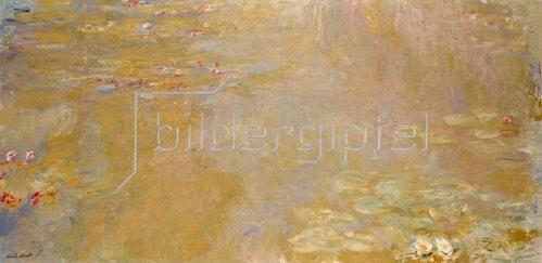 Claude Monet: Seerosen-Teich   1917/1919