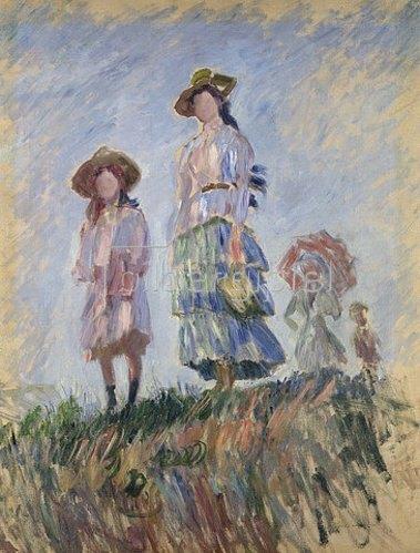 Claude Monet: Spaziergang (Skizze). 1886
