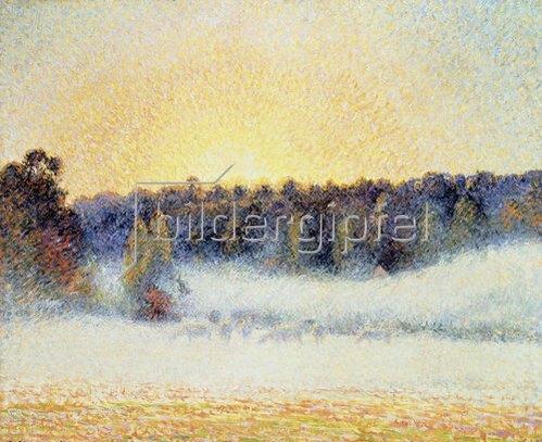 sonnenuntergang mit nebel und - photo #41