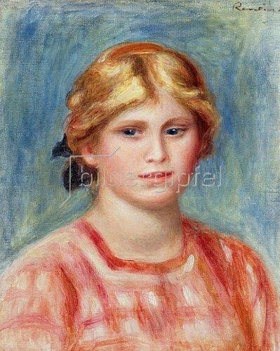 Auguste Renoir: Frauenbildnis in rosa Bluse. 1905