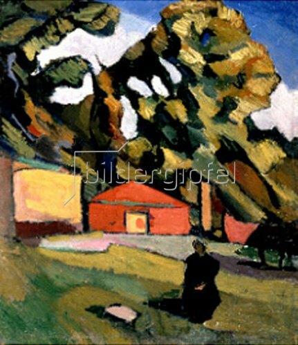 Alexander Nikolajew Koslov: Dekorative Landschaft   1928/1929