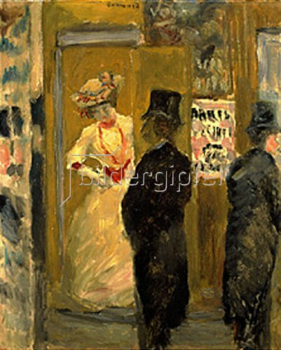 Pierre Bonnard: Nach dem Theater   1902