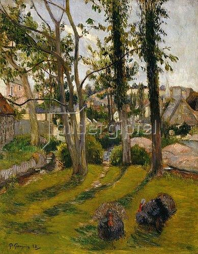 Paul Gauguin: Die Truthähne (Pont-Aven). 1888