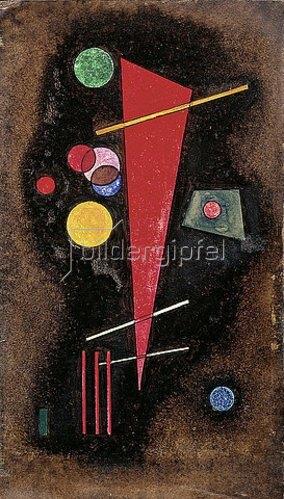 Wassily Kandinsky: Bestimmend. 1928