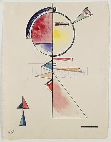 Wassily Kandinsky: Unfester Ausgleich   1930