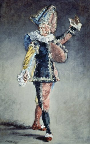 Edouard Manet: Polichinelle (Hanswurst). 1873