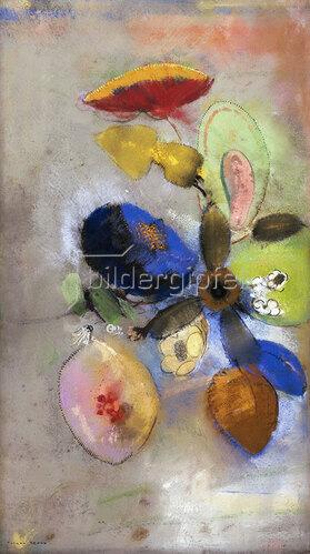 Odilon Redon: Blüten. 1907-1910