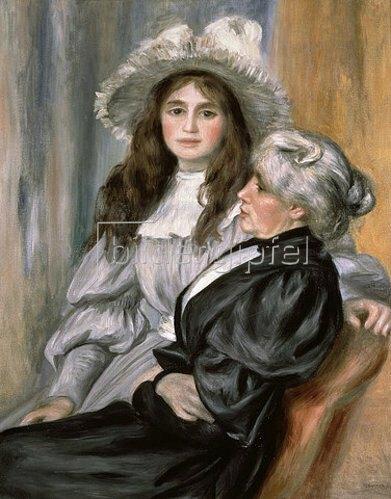 Auguste Renoir: Julie Manet und Berthe Morisot. 1894
