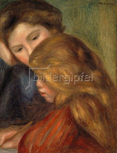 Auguste Renoir: Die Schreibstunde, 1895