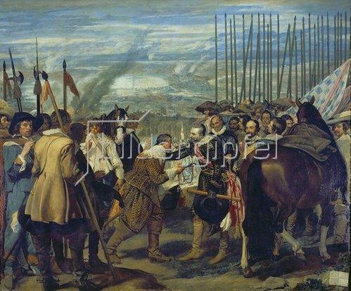 Diego Rodriguez de Velazquez: Die Übergabe von Breda. 1634/1635