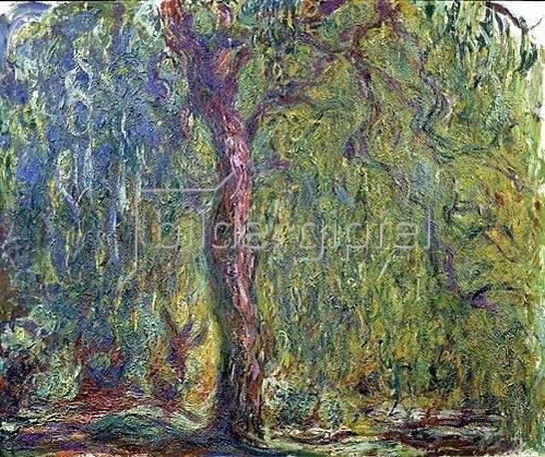 Claude Monet: Trauerweide  um 1919