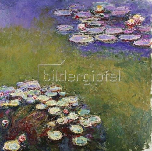 Claude Monet: Seerosen.