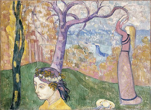 Emile Bernard: Madeleine im Bois d'Amour. 1892
