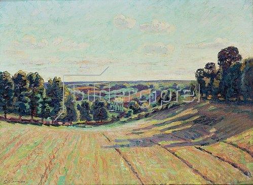 Jean-Baptiste Armand Guillaumin: Hügellandschaft in La Creuse. Ca. 1900