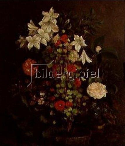 Gustave Courbet: Blumenstilleben. 1863