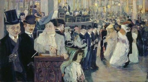 Ida Gerhardi: Großes Pariser Tanzstück (Bal Bullier). 1905