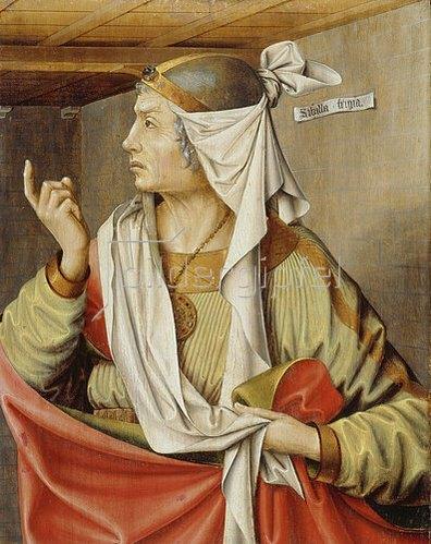 Ludger tom d.Ä Ring: Die Phrygische Sibylle. Um 1538