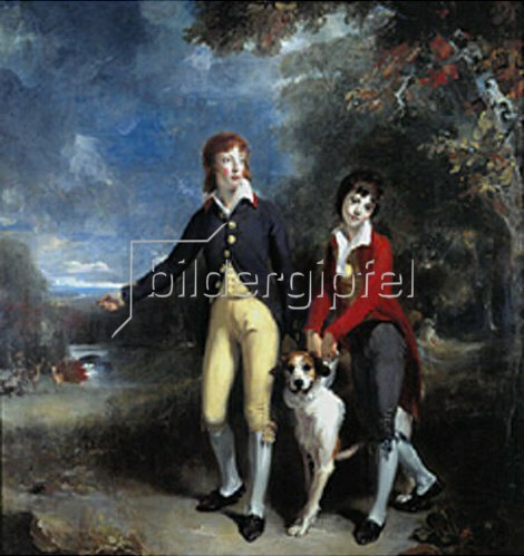 Sir Thomas Lawrence: Die Söhne des 1. Earl Talbot. 1792/93.