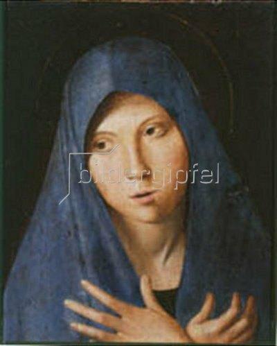 Antonello da Messina: Maria der Verkündigung - Detail
