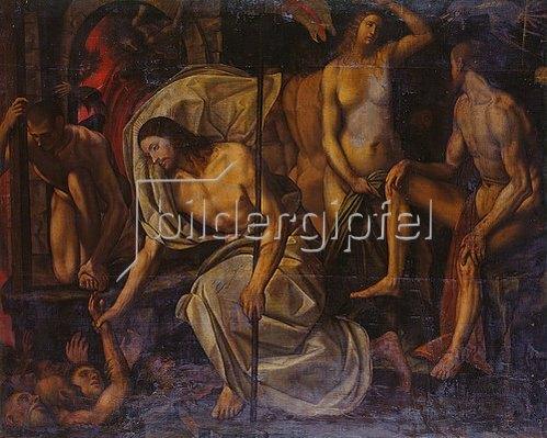 Girolamo da Treviso: Cristo al Limbo.