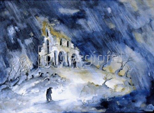 Annette Bartusch-Goger: Ruine im Sturm (Verschwörung)   2002