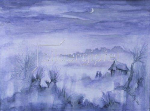 Annette Bartusch-Goger: Teufelsmoor im Nebel   2002