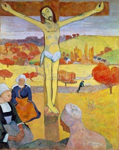 Paul Gauguin: Der gelbe Christus. 1889