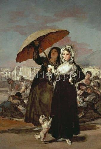 Francisco José de Goya: Der Spaziergang  1808/1812