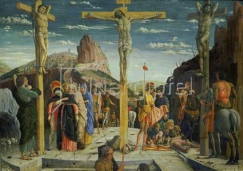 Andrea Mantegna: Die Kreuzigung Christi. 1557/60