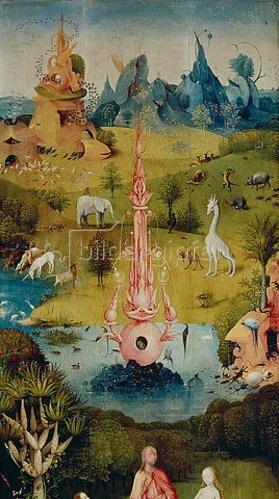 Der Garten Der Lüste Linker Flügel Des Triptychons Das Paradies