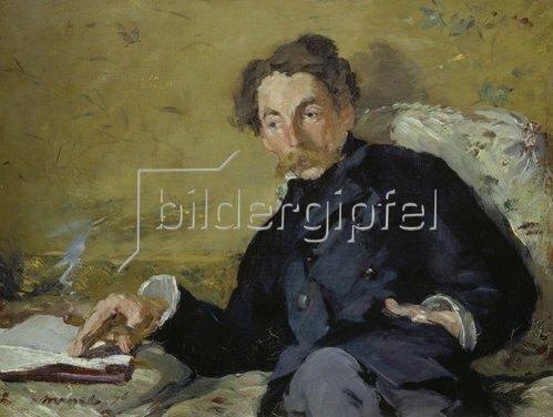 Edouard Manet: Bildnis von Stéphane Mallarmé   1876