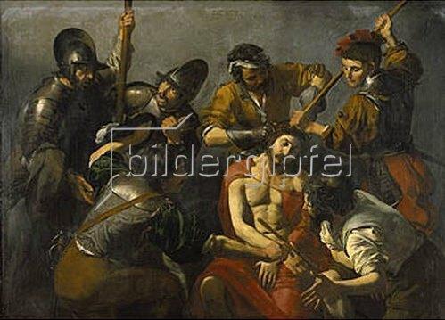 Valentin de Boullogne: Dornenkrönung Christi.