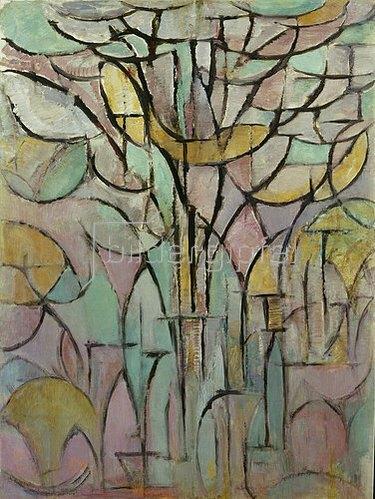 Piet Mondrian: Bäume. 1912