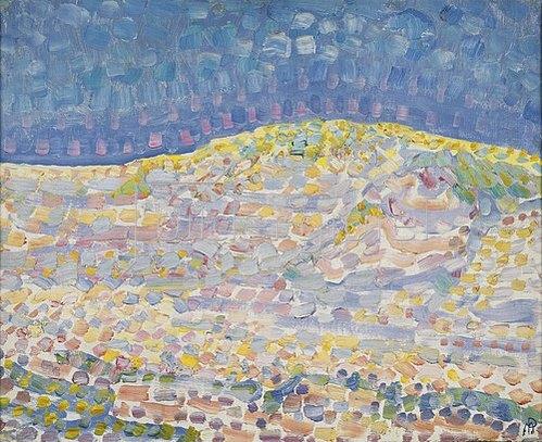 Piet Mondrian: Düne II. 1909