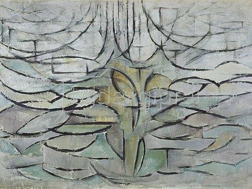 Piet Mondrian: Blühender Apfelbaum. 1912