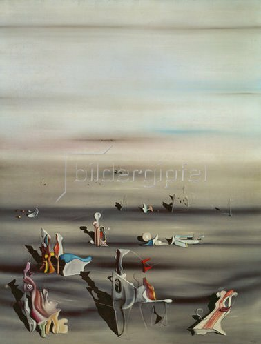 Yves Tanguy: Le Temps Meuble   1939