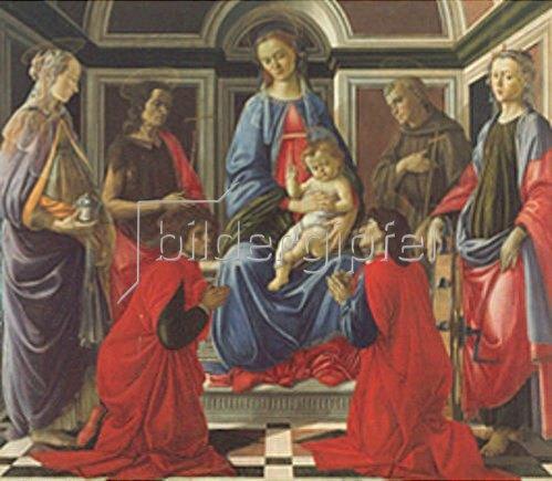 Sandro Botticelli: Altar des Hl. Ambrosius.
