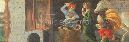Sandro Botticelli: Altar von San Marco: Das Wunder des Hl. Eligius.