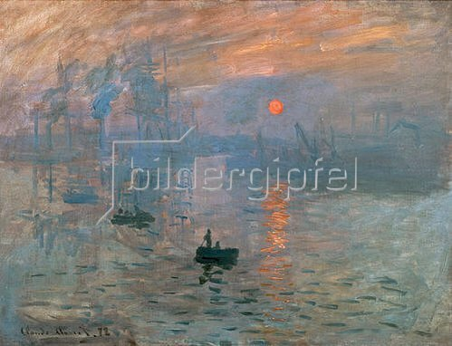 Claude Monet: Impression (Sonnenaufgang). 1872
