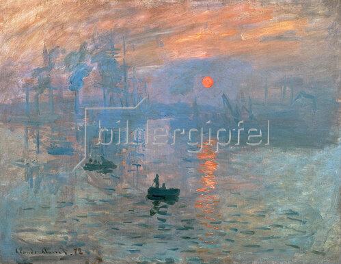 Claude Monet: Impression (Sonnenaufgang). 1872