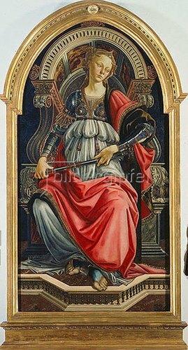 Sandro Botticelli: Fortitudo. 1470.