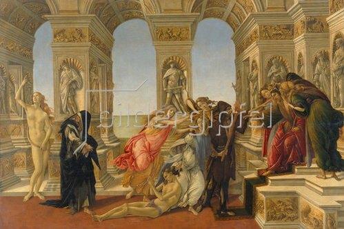 Sandro Botticelli: Die Verleumdung des Apelles. 1494/95.