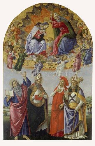 Sandro Botticelli: Krönung Mariae