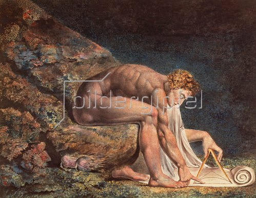 William Blake: Isaak Newton. 1795