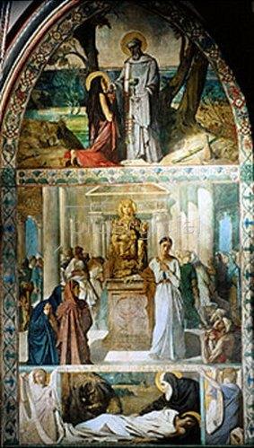 Theodore Chasseriau: Die Geschichte der Maria Ägyptiaca.