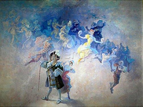 Jules Cheret: Komödie. 1898-1902